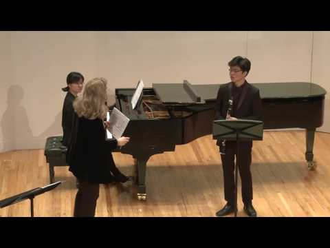 MSM -Kathleen Jones , CLARINET MASTER CLASS March 2017 Part II