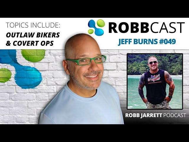 E:049 Jeff Burns | Outlaw Biker Clubs, Covert Ops, Private Military
