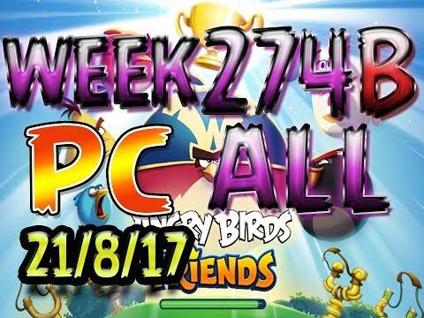 Angry Birds Friends Tournament All Levels week 274-B PC POWER-UP walkthrough @AngryBirds