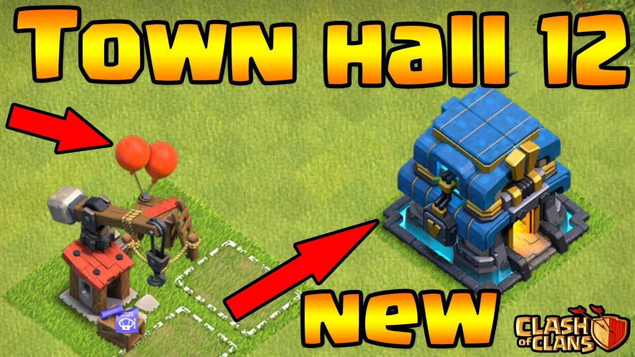 Town Hall 12 IS HERE - Clash Of Clans - TH12 New Giga Tesla || Test Town Hall 12