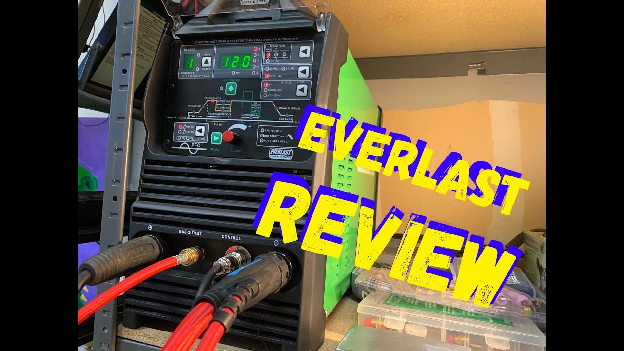 EVERLAST WELDERS - MY REVIEW OF THE EVERLAST 210 TIG ...