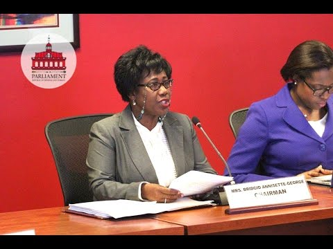 Media Conference: Public Administration and Appropriations Committee