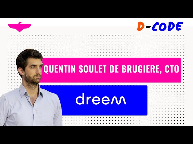 From research lab to mass market  🛌 Quentin Soulet de Brugière, CTO at Dreem