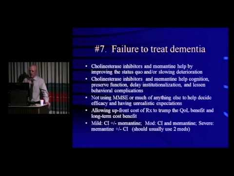 10 Common Mistakes in Geriatrics