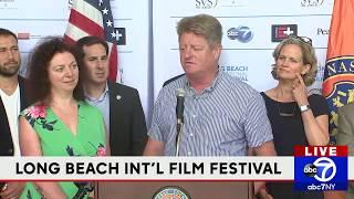 Kickoff for Long Beach International Film Festival