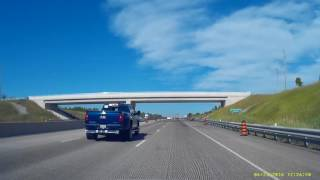 Accident Nearly Caused by Dump Truck on Hwy 401 - June 23, 2016