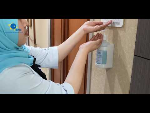 6 Langkah Cuci Tangan menurut standar WHO