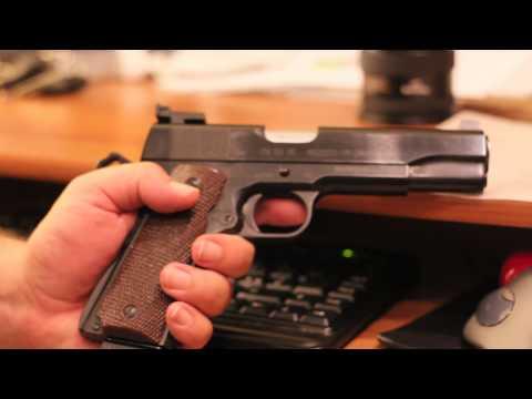 My First Handgun! - and some Italian Gun Laws shenanigans...