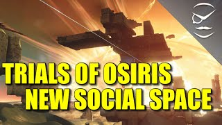 Destiny! Trials Of Osiris New Planet Social Space! Mercury Lighthouse!