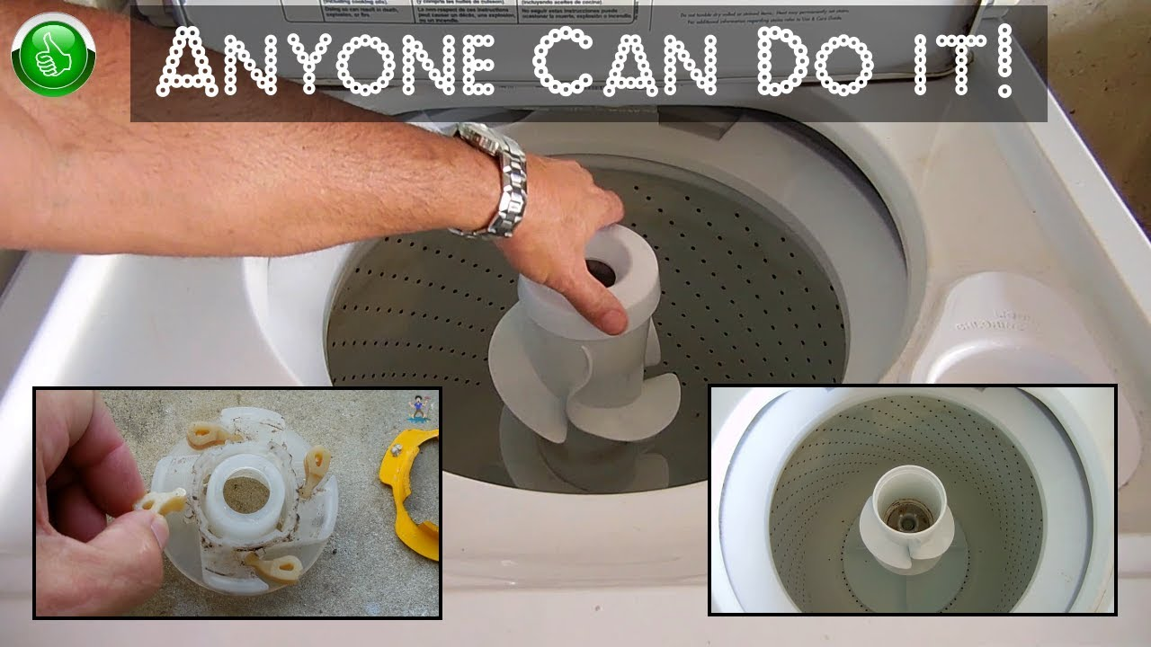 Washing Machine Agitator Repair All Models Youtube