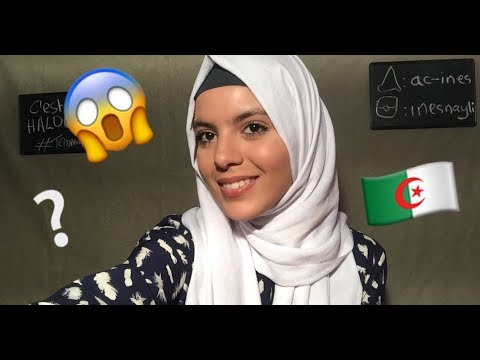 Q&A (in English) Living in Algeria? My secret talent? And more!