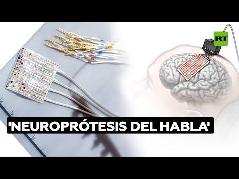 Crean una 'neuroprótesis del habla' para paralíticos @RT Play en Español