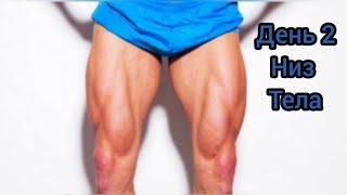 Тренировка мышц низа тела Комплекс упражнений часть 2