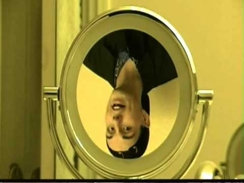 Appear upside down in a mirror and rightside up in a for Uses of mirror