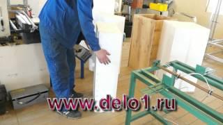 Производство балясин из бетона.