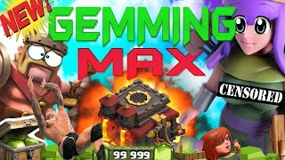 CLASH OF CLANS - $2100! GEMMING TO MAX TOWN HALL 10 / GEM SPREE!