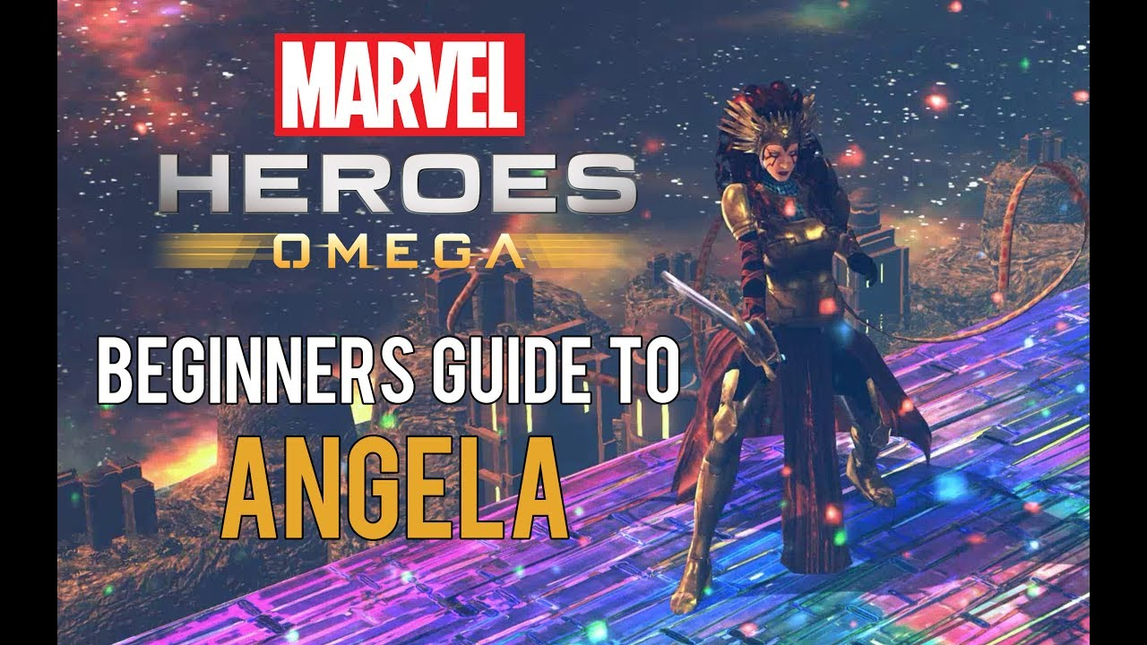 Angela: Beginners Guide - Marvel Heroes Omega (PC/PS4/XBOX)