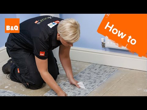 How To Lay Vinyl Tiles Carpet Tiles Part 2 Laying The Tiles Youtube