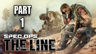 Spec Ops the Line Walkthrough - Part 1 [Chapter 1] The Evacuation Let's Play PC XBOX PS3