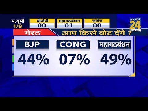 Lok Sabha Elections 2019- पश्चिमी यूपी की Meerut सीट का Opinion Poll