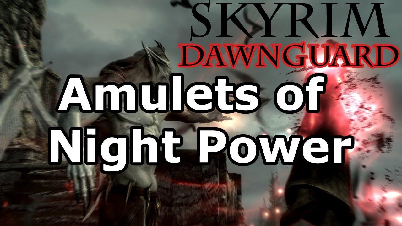 Skyrim: Amulets of Night Power Quest - Vampire Lord (Dawnguard DLC)