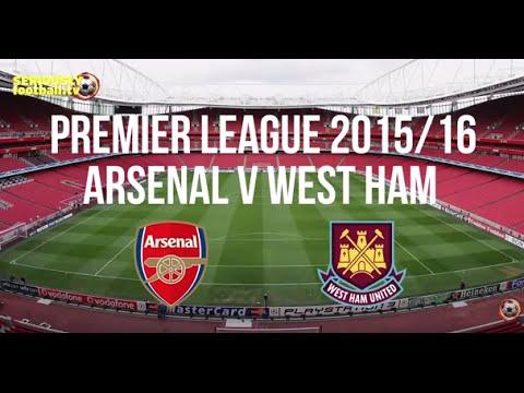 Arsenal vs West Ham - Premier League Preview - YouTube