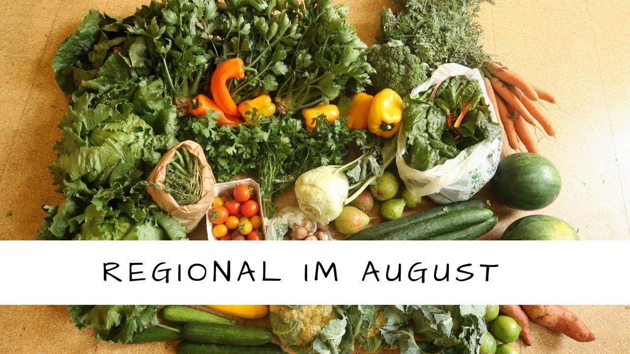 So viel bezahle ich für meine regionale grüne Biokiste im August!