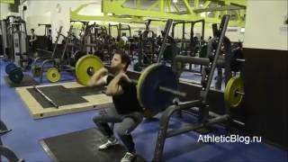 Силовая подготовка спортсменов. Элементы силовой тренировки