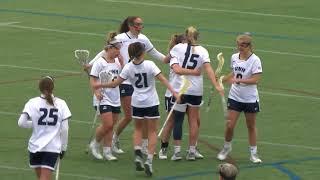 UNH Women's Lacrosse vs Sacred Heart Highlights 02/10/18