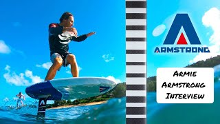 Armstrong Foils- Interview with Armie Armstrong in Raglan