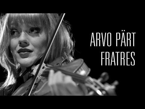 Arvo Pärt - Fratres for Violin and Piano. Nebel and McKiggan