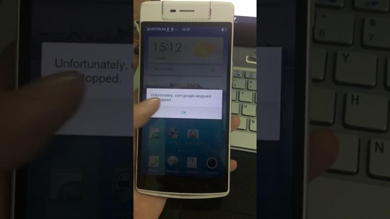 Diệt virus quảng cáo cài rom tiếng Việt CH Play Store cho Oppo N3 N5209 xách tay trung quốc