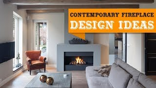 +50 Modern Contemporary Fireplace Design Ideas to Bring Into Your Home