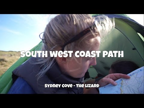 Camping at KYNANCE COVE    SWCP -  Sydney Cove - The Lizard