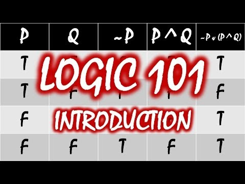 Logic 101 (#1): Introduction