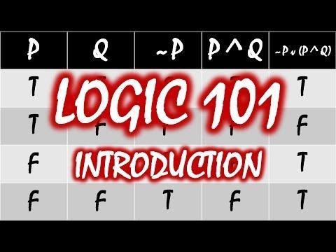 Logic 101 (#1): Introduction