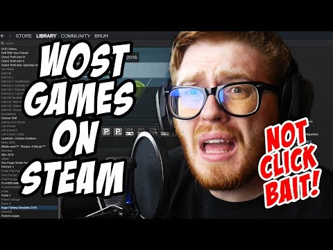 DO NOT BUY STEAM GAMES AT 3AM!! (NOT CLICK BAIT!) TOO SPOOKY!