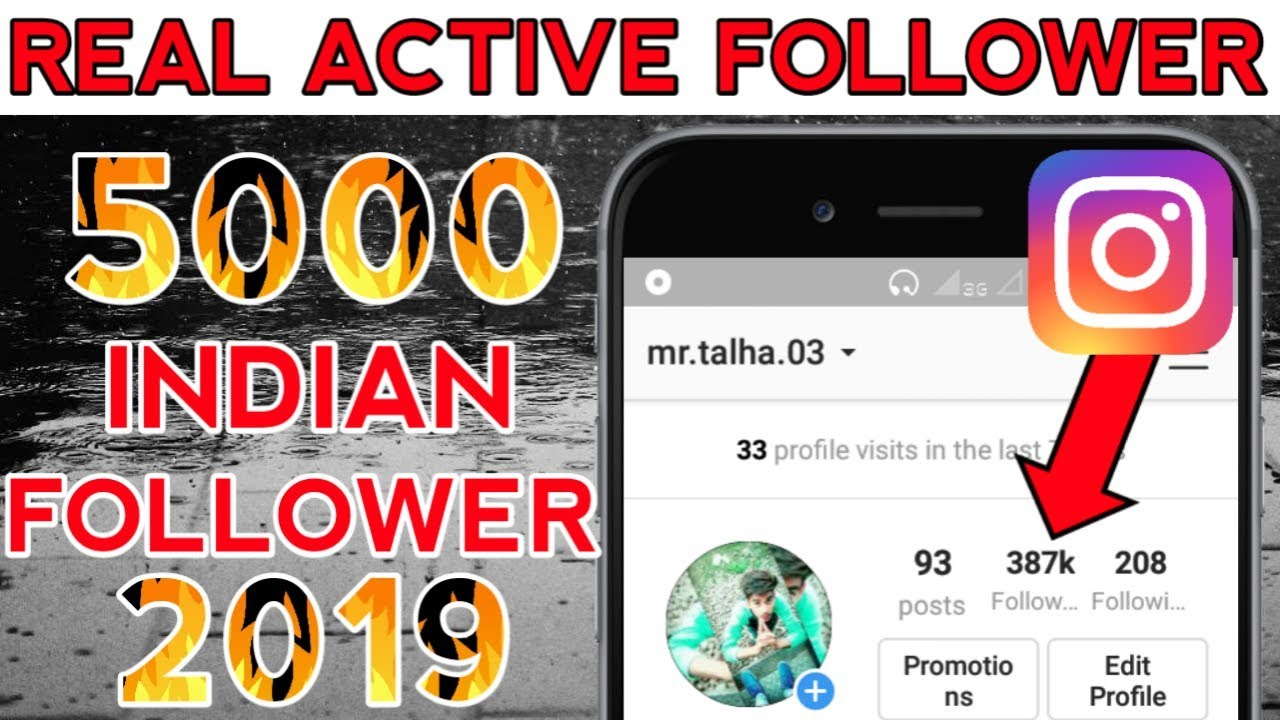 Get Real Instagram Followers - 2019 | Instagram Auto Follower Free - 2019