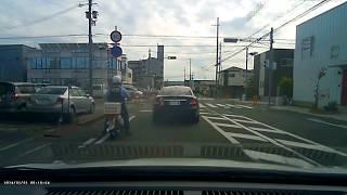 ドラレコ 車線区分違反したベンツの結末 姫路市役所近辺