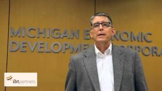 ibt partners meets Frank Ferro from Michigan Economic Development Corporation