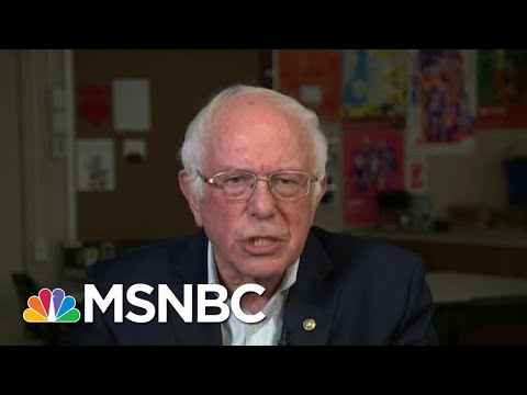 Bernie Responds To Buttigieg's Remarks On College Affordability: 'He's Wrong' | All In | MSNBC
