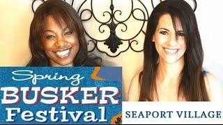 Busker Festival in Seaport Village San Diego
