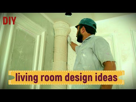 living room design ideas   DIY GYPSUM & GYPSUM BOARD