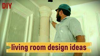 living room design ideas   DIY GYPSUM & GYPSUM BOARD
