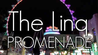 At the Linq Promenade on the Las Vegas Strip, restaurants, bars, re...