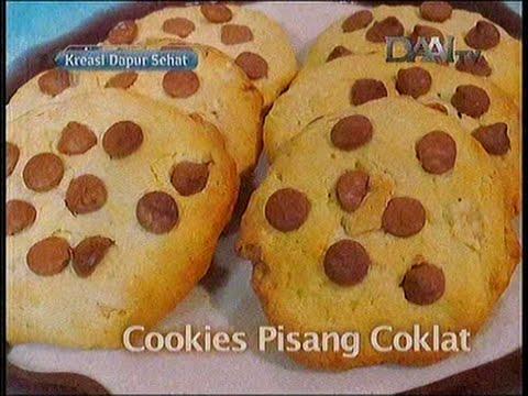 Resep Cookies Pisang Coklat Ala Chef Vania Wibisono