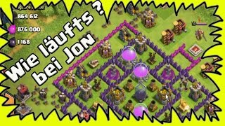 [Clash of Clans ] DEUTSCH || wie läuft es bei DonJon? + epische Angriffe