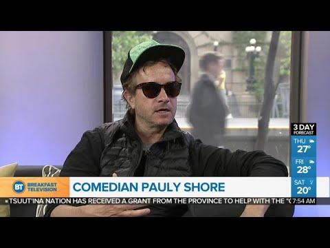 ComedianActor Pauly Shore