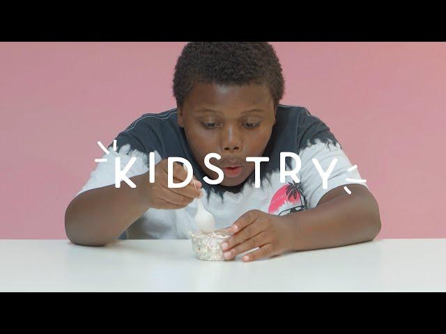 Kids Try: 90's Ice Cream |  HiHo Kids