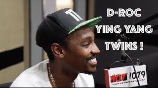 "D ROC Of Ying Yang Twins ""I Thought I Was A Smoker.. Until I Met Snoop Dogg"""